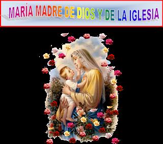 Resultado de imagen para maria madre de la iglesia