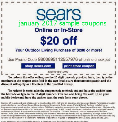 Sears Outlet Coupon Codes 2017 We Have 0 Active Coupons And Deals For November