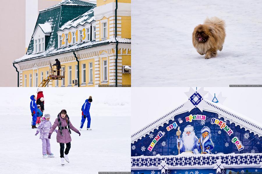 Зима в городе | Winter in the city