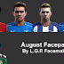 PES 2013 : August Facepack By L.G.R Facemaker