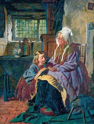 Resultado de imagem para velha cega lendo livro