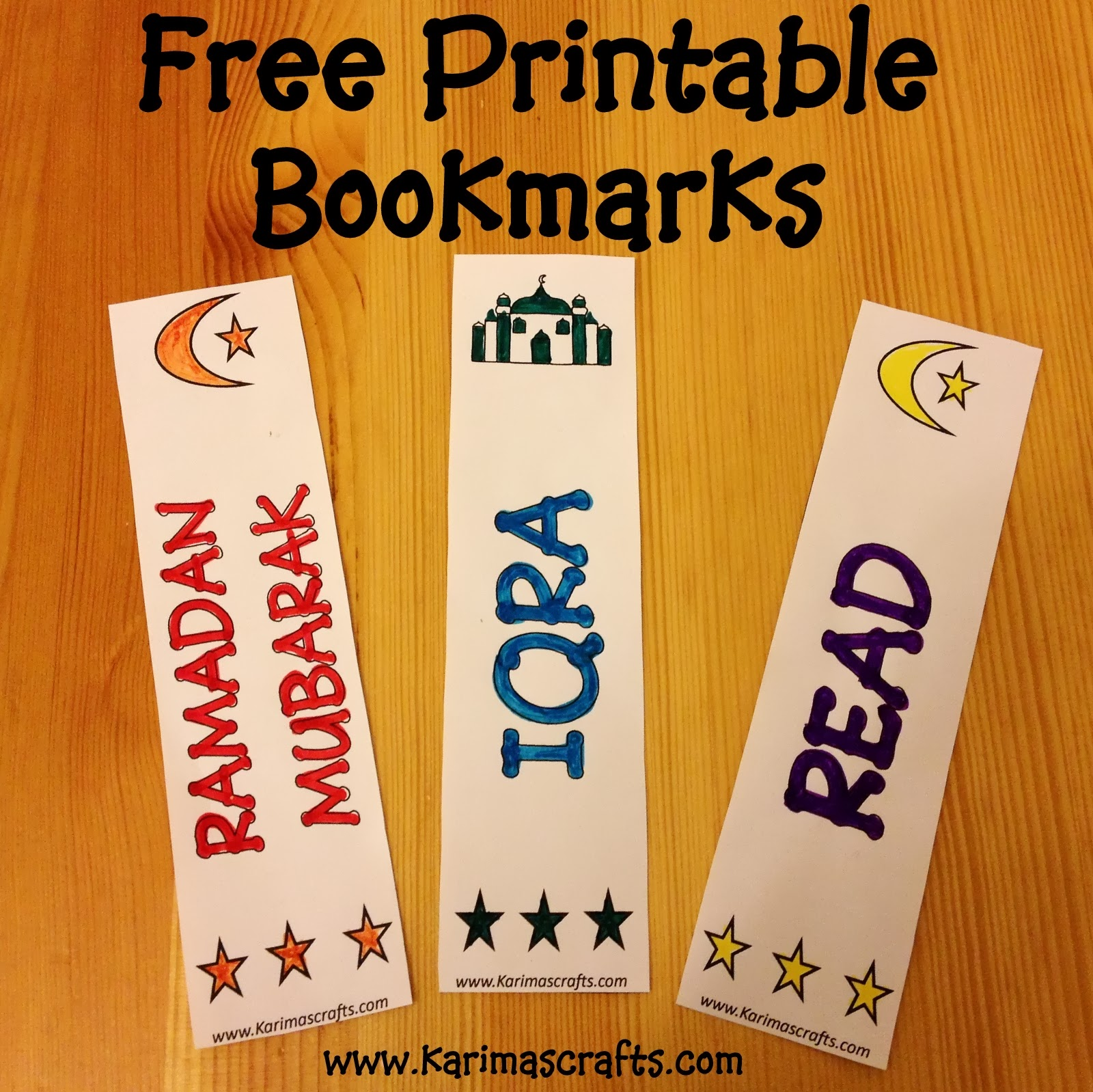 Karima S Crafts Islamic Bookmarks