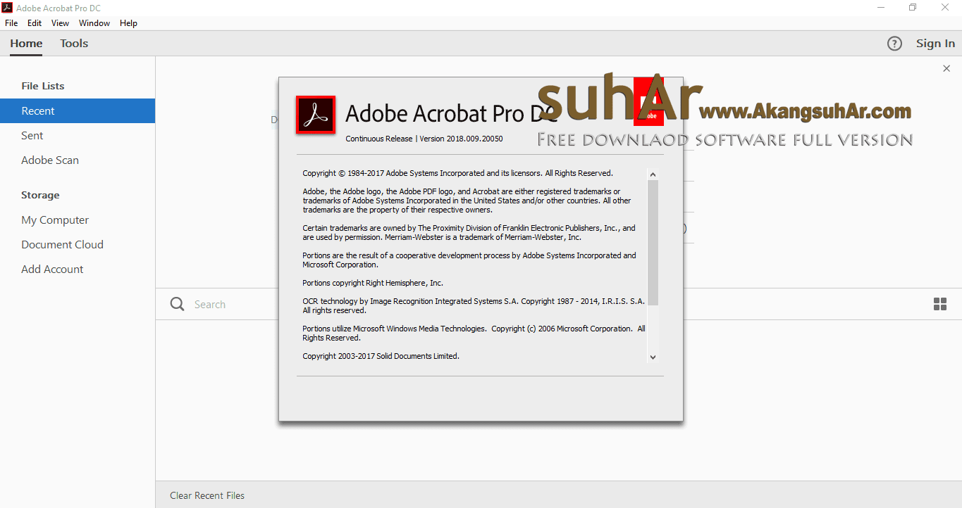 Adobe Acrobat Pro DC Final Latest Version, Adobe Acrobat Pro DC 2018 Full For Windows