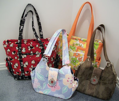 Bags crafted by eSheep Designs
