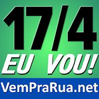 imagem para usar em redes sociais para o Brasil pedir impeachment de Dilma