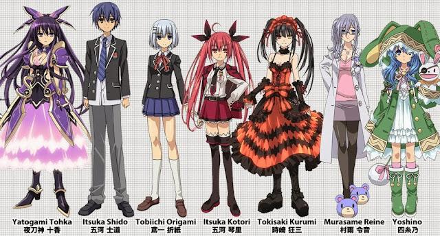 Moonlight Summoner's Anime Sekai: Date A Live デート・ア