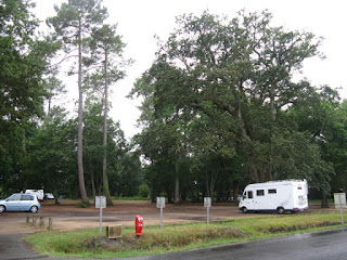 Sabres: estacionament de l'autocaravana