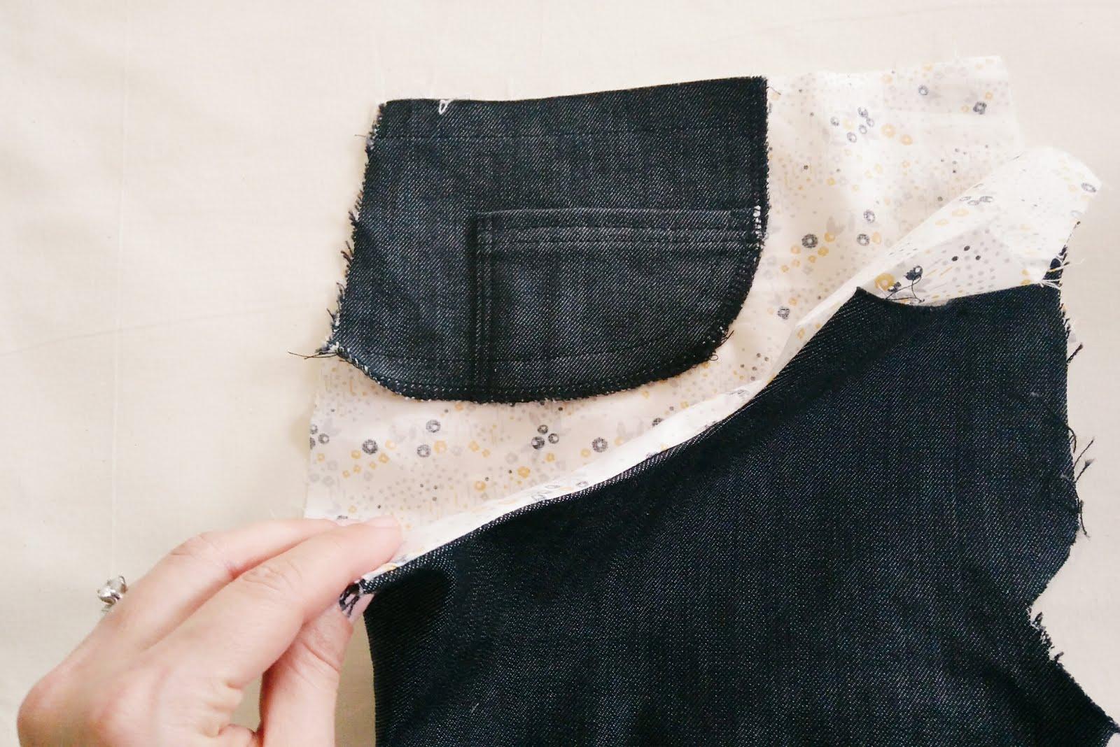 pocket stay Ginger jeans