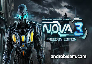 Game Android Terbaik N.O.V.A. 3 Freedom Edition