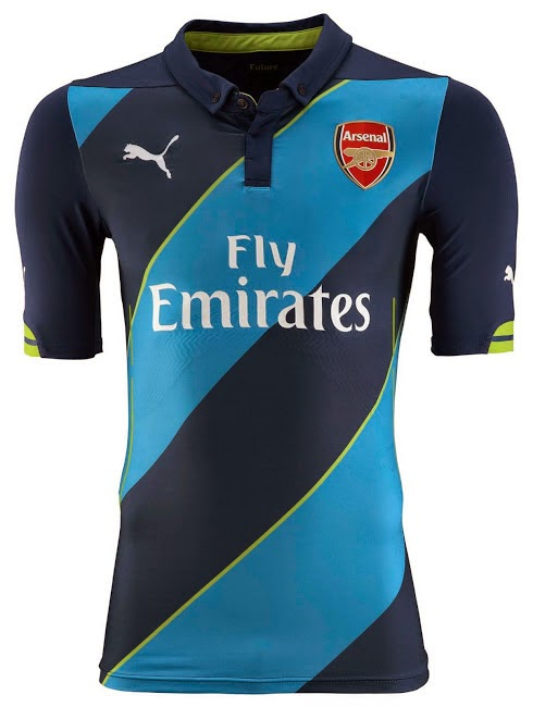 Arsenal New Puma 2014-15 Third Kit