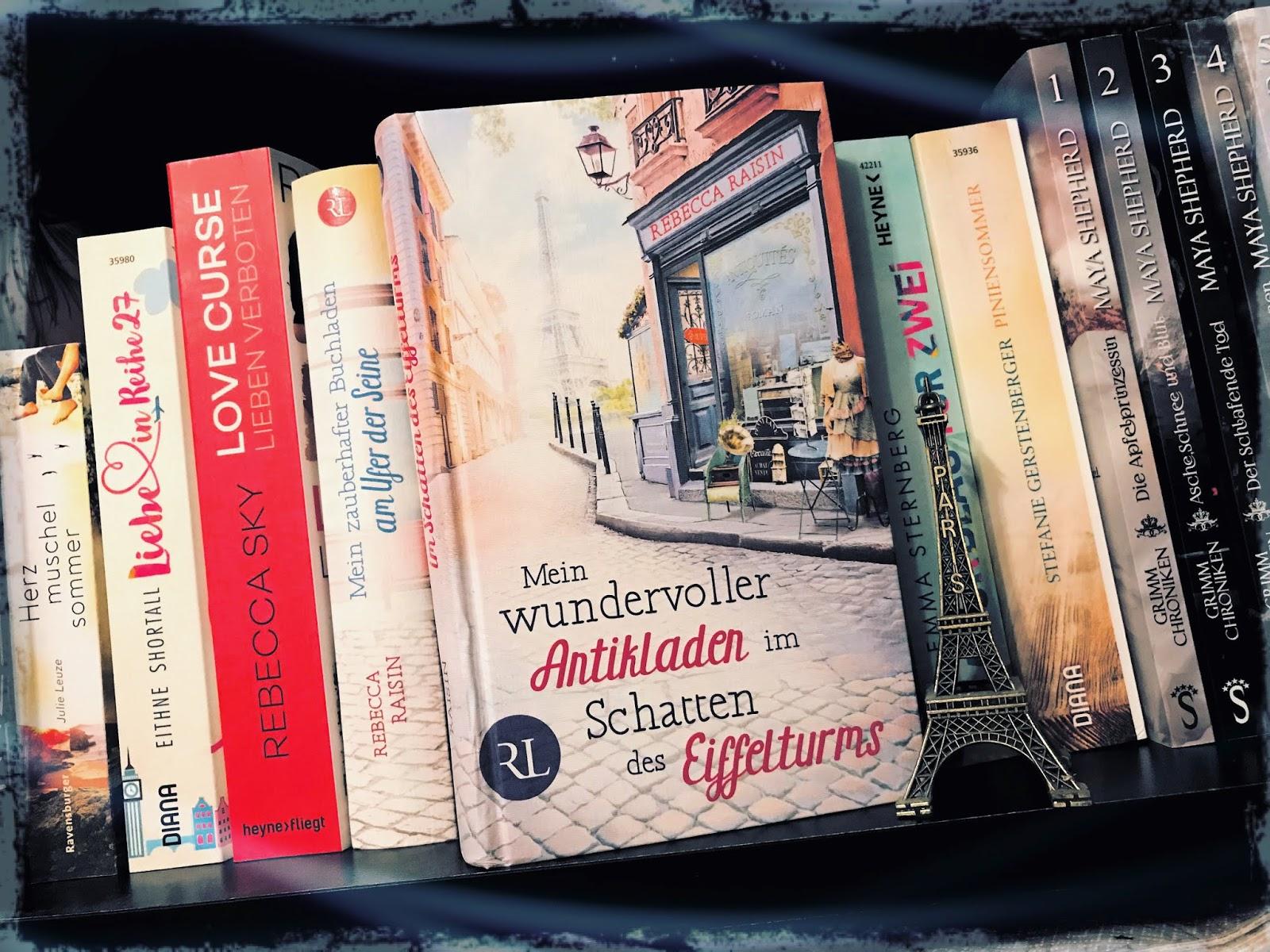 Sarahs Kleine Bücherwelt Rezension Mein Wundervoller Antikladen