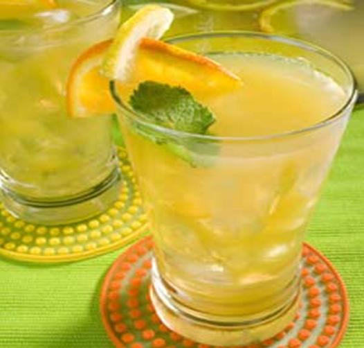 Minuman Orange Mint Squash