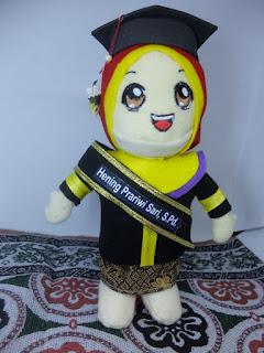 boneka custom satuan solo