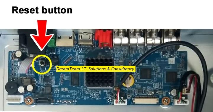 How to reset Dahua DVR admin password - DreamTeam i T  Solutions