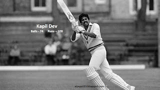 Kapil Dev in top-10 to hit fastest test century