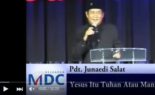 Inna Lillahi! Pdt Junaedi Palsukan Ayat Al Qur'an, Ini Bukti Videonya