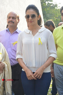Actress Rakul Preet Singh at Endometriosis Awareness Walk at Apollo Cradle  0050.jpg