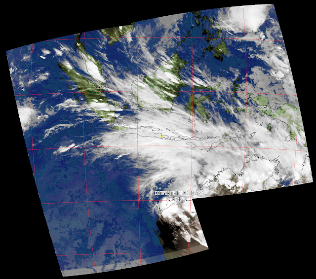 Composite Image  NOAA-18 MCIR Mode