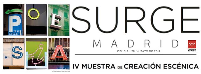 SURGE MADRID 2017 - Una apuesta firme por la escena ´off´.