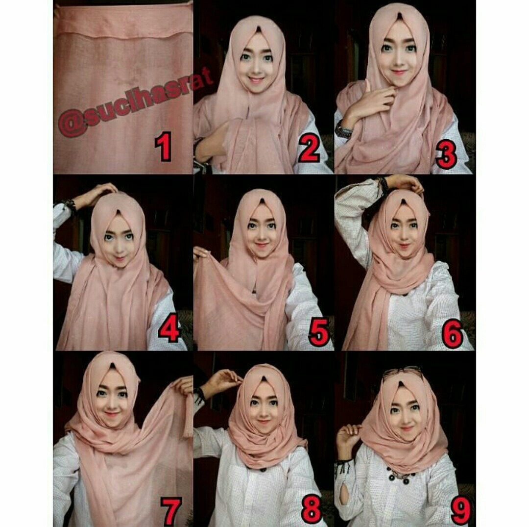 A Womans World Tutorial Hijab Simpel Kalangan Remaja