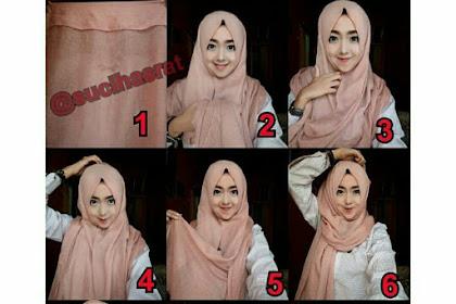 Cara Memakai Hijab Pashmina Simple Dan Mudah Untuk Remaja