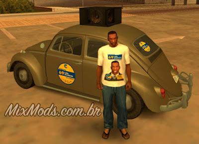 mod de eleição para GTA SA