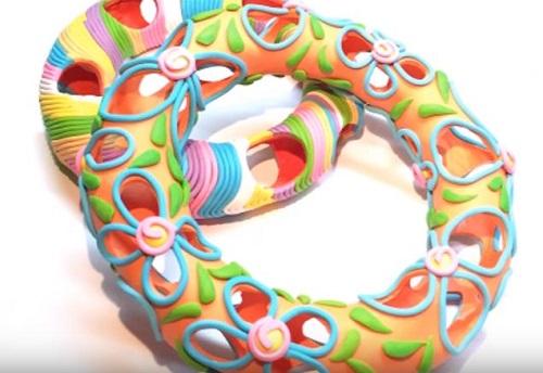 How To Make Hollow Polymer Clay Beads Using Nothing But Polymer Clay Polymer Clay Tutorial arcilla polimerica d/'argile de polym\u00e8re