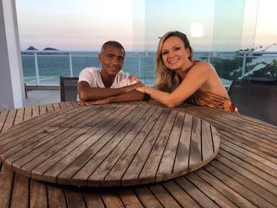 Eliana e Romário - Crédito: Divulgação/SBT