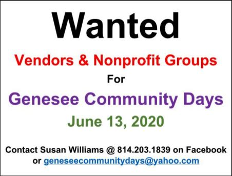 6-13 Genesee Community Days