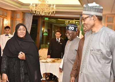 Tinubu In Makkah With Buhari, Says PDP Still Suffering From Post Election Defeat Trauma