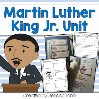 Martin Luther King Jr. ELA Activities- reading, writing, vocabulary, comprehension