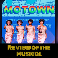 Still of The Supremes in Motown the Musical, wearing beautiful pink dresses