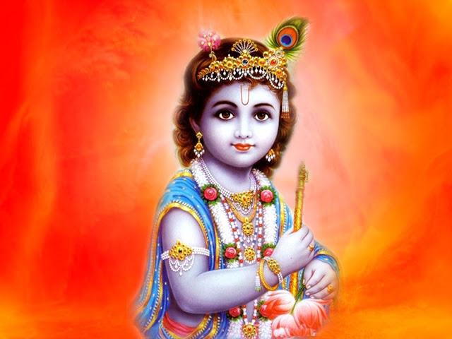 Beautifull God Krishna HD Wallpaper