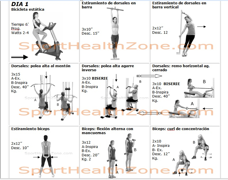 Rutinas de ejercicios para adelgazar mujeres