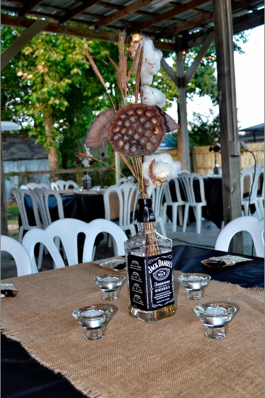Jack Daniels Party Decor Ideas Sante Blog