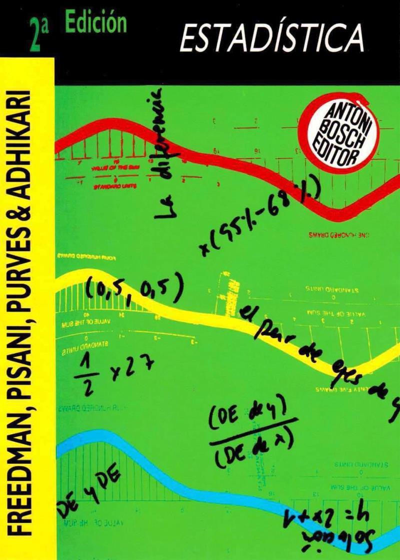 Estadística, 2da Edición – David Freedman, Robert Pisani, Roger Purves