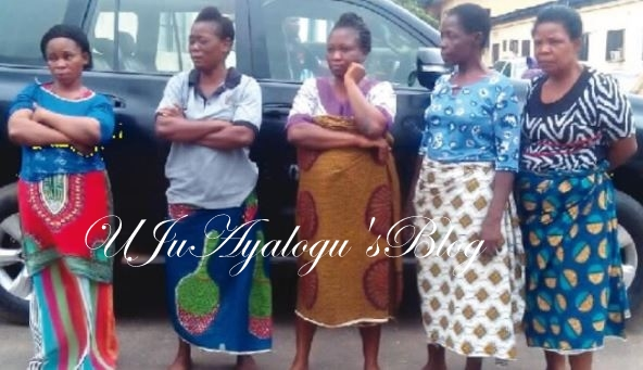 See Photo of Five Evil Women Who Kidnapped a 3-year-old Boy and Sold Him for N600,000