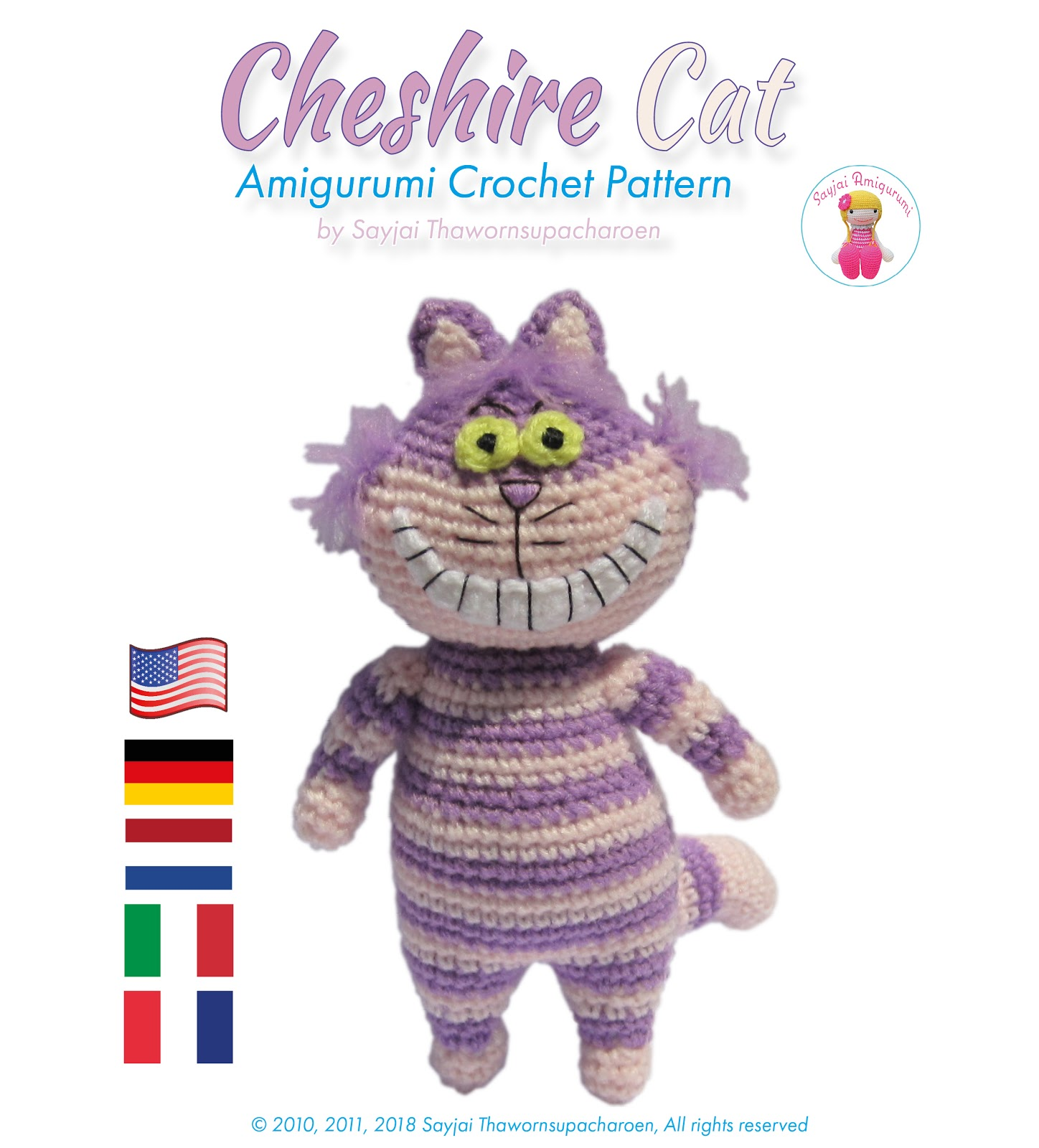 Cat Amigurumi Tutorial | Beginner Crochet | Kitty Mod Free Pattern ... | 1600x1448