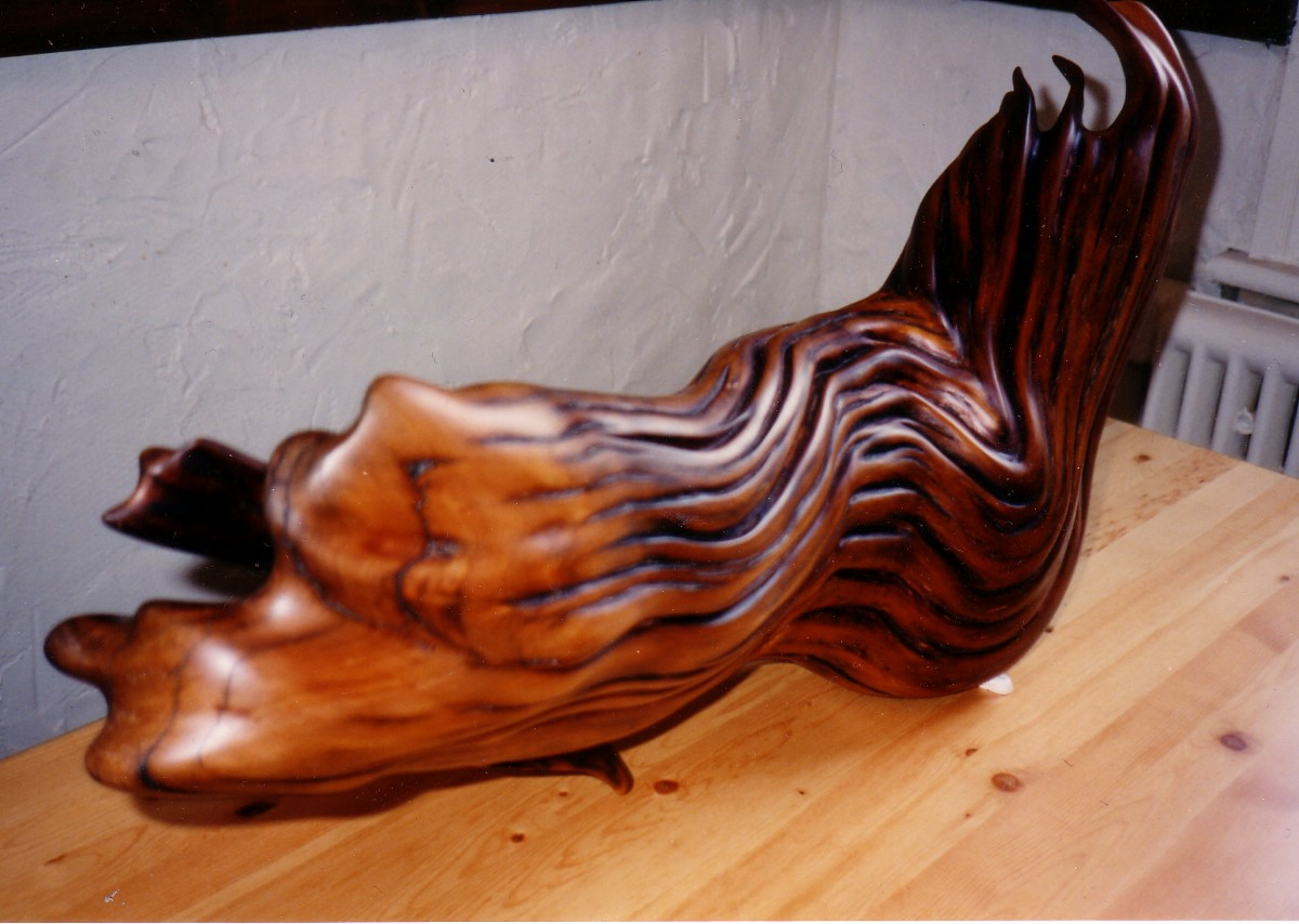 Wooden sculpture art gallery variations and designs