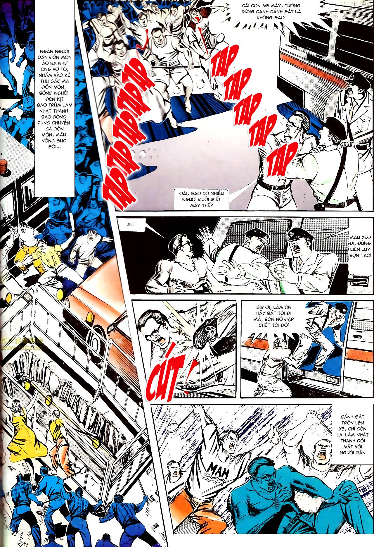 Người Trong Giang Hồ chapter 145: máu thịt tung tóe trang 7