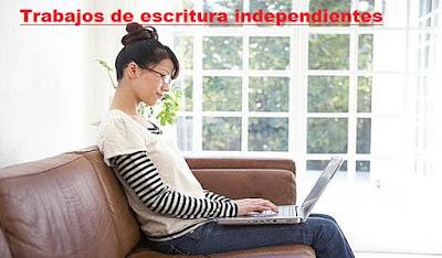 Trabajos de escritura independientes