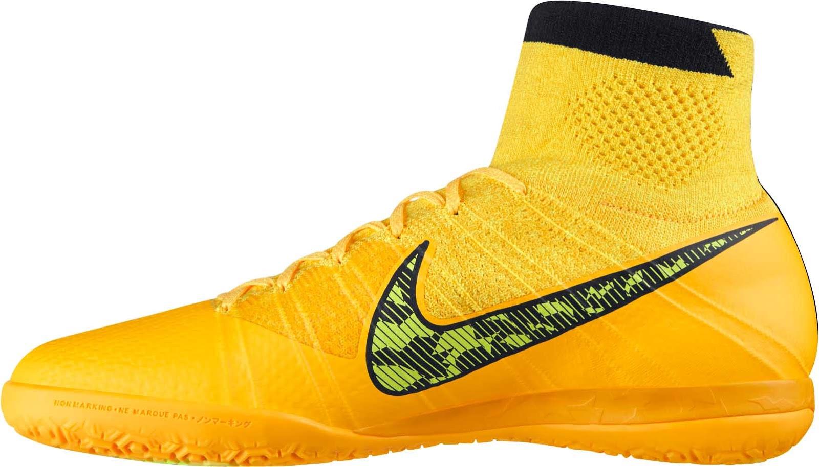 2fcf1b23f06 Nike Elastico Superfly IC Laser Orange   Black   White   Volt