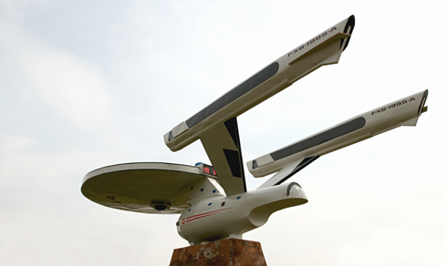 Starship Enterprise Vulcan Alberta