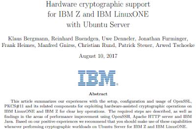 Hardware cryptography with Ubuntu Server on IBM Z and LinuxONE