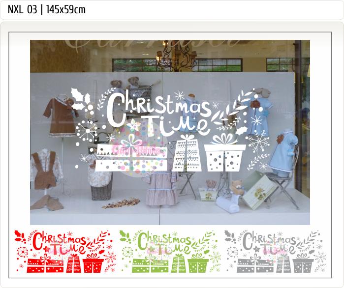 vinilo vidriera navidad, vinilo navideño, christmas, decoracion de vidrieras navidad, trineos, regalos