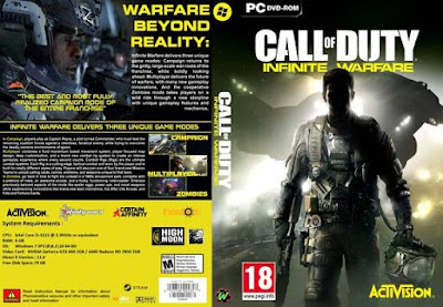Jogo Call of Duty Infinite Warfare Deluxe Edition Dublado PC  DVD Capa