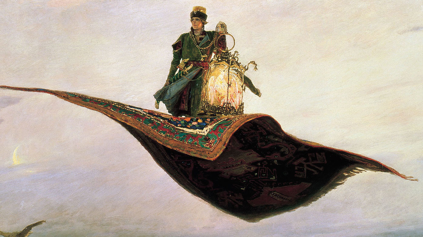 Out Of Phase The Flying Carpet Vasnetsov