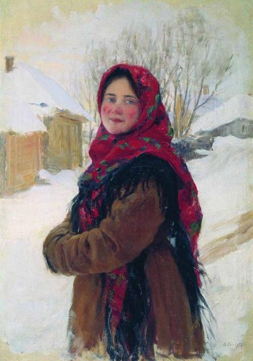 Сычков Федот Васильевич Крестьянская девушка