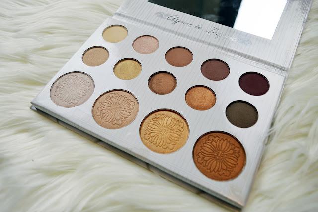 BH Cosmetics Carli Bybel eyeshadow and highlight palette