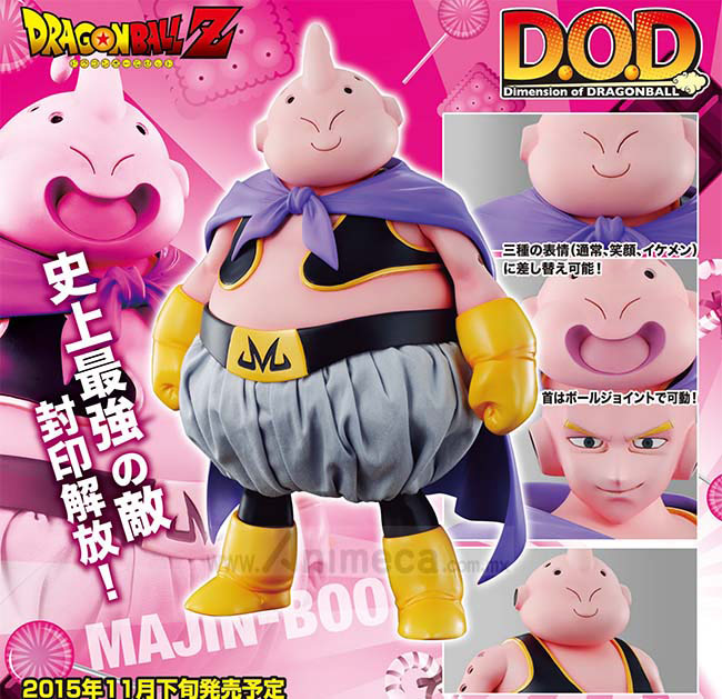 Figura Majin Buu Dimension of Dragon Ball MEGAHOUSE